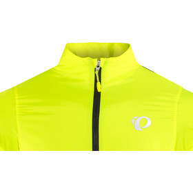 PEARL iZUMi Elite Pursuit Hybrid Jacket Herre screaming yellow/black